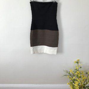 Cache Strapless Bodycon Dress